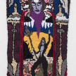 Hannah Epstein. <em>At The Gates of 2020</em>, 2020. Wool, acrylic, polyester, cotton and burlap, 51 x 30 inches (129.5 x 76.2 cm) thumbnail