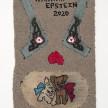 Hannah Epstein. <em>Hannah Epstein 2020</em>, 2020. Acrylic, polyester, cotton, burlap and vintage hooked rugs, 49 x 30 inches (124.5 x 76.2 cm) thumbnail