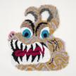 Hannah Epstein. <em>Tiger Tongue</em>, 2020. Acrylic, polyester, cotton and burlap, 36 x 32 inches (91.4 x 81.3 cm) thumbnail