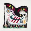 Hannah Epstein. <em>Sneak</em>, 2020. Wool, acrylic, polyester, cotton and burlap, 37 x 35 inches (94 x 88.9 cm) thumbnail