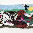 Hannah Epstein. <em>Lil Bo Peep's Lost Sheep</em>, 2020. Wool, acrylic, polyester, cotton and burlap, 17 x 40 inches (43.2 x 101.6 cm) thumbnail
