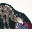 Hannah Epstein. <em>The Kiss</em>, 2020. Wool, acrylic, polyester, cotton and burlap, 23 x 28 inches (58.4 x 71.1 cm) thumbnail