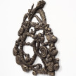 Kate Klingbeil. <em>Twisted Root</em>, 2020. Cast brass, 9 1/4 x 9 1/2 x 3/4 inches (23.5 x 24.1 x 86.4 cm) Detail thumbnail