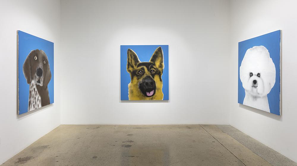 <em>Best In Show</em>. Installation view, Steve Turner, 2021