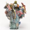 Kazuhito Kawai. <em>Last Christmas</em>, 2020. Glazed ceramic, 15 3/8 x 11 3/4 x 11 3/4 inches (39 x 30 x 30 cm) Detail thumbnail