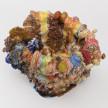 Kazuhito Kawai. <em>California Dreamin</em>, 2020. Glazed ceramic, 14 5/8 x 14 1/8 x 13 inches (37 x 36 x 33 cm) Detail thumbnail
