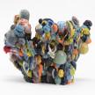 Kazuhito Kawai. <em>Kinetic Youth</em>, 2020. Glazed ceramic, 15 x 17 3/4 x 17 3/4 inches (38 x 45 x 45 cm) thumbnail