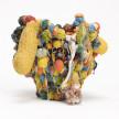 Kazuhito Kawai. <em>Forever 21</em>, 2021. Glazed ceramic, 13 1/4 x 15 x 15 inches (33.5 x 38 x 38 cm) thumbnail