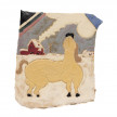 Kevin McNamee-Tweed. <em>Second Snow (Horse Looking Up)</em>, 2020. Glazed ceramic, 5 x 4 1/2 inches (12.7 x 11.4 cm) thumbnail
