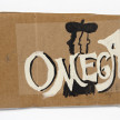 Kevin McNamee-Tweed. <em>Omega (Painter Plural)</em>, 2021. Acrylic and gouache on cardboard, 9 x 13 1/2 inches (22.9 x 34.3 cm) thumbnail