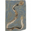 Kevin McNamee-Tweed. Snake with Bulb (Ideas), 2020. Glazed ceramic, 12 3/4 x 8 1/2 inches (32.4 x 21.6 cm) thumbnail