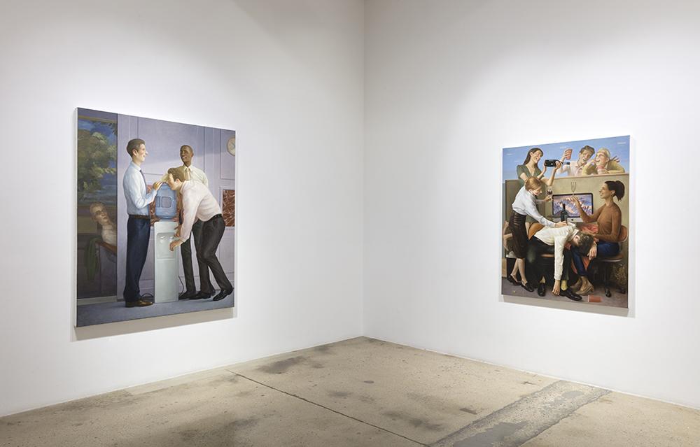 <em>Business Casual</em>. Installation view, Steve Turner, 2021