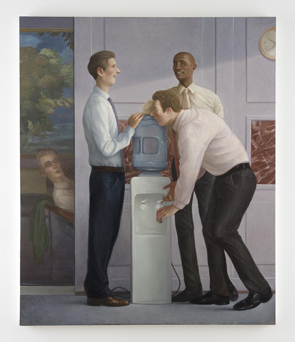 Pablo Barba. The Aristocrats, 2021. Oil on canvas, 72 x 60 inches (182.9 x 152.4 cm)