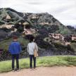 Paige Jiyoung Moon. <em>Griffith Park Hiking</em>, 2018. Acrylic on canvas, 10 x 10 inches (25.4 x 25.4 cm) thumbnail