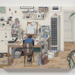 Paige Jiyoung Moon. <em>132 Studio</em>, 2019. Acrylic on panel, 11 x 14 inches (27.9 x 35.6 cm) thumbnail