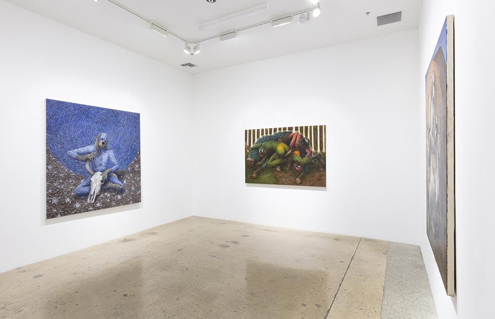 <em>Wasteland</em>. Installation view, Steve Turner, 2021