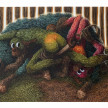 Drew Dodge. <em>Brown-nosers</em>, 2021. Oil on canvas, 48 x 72 inches (121.9 x 182.9 cm) thumbnail