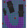 Jon Key. <em>Jarrett and Jon (Chosen Family No. 5)</em>, 2021. Acrylic on panel, 40 x 30 inches (101.6 x 76.2 cm) thumbnail