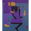 Jon Key. <em>Leandro and Sharina (Chosen Family No. 8)</em>, 2021. Acrylic on panel, 60 x 48 inches (152.4 x 121.9 cm) thumbnail