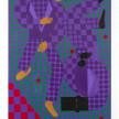 Jon Key. <em>Kit and Jon (Chosen Family No. 11)</em>, 2021. Acrylic on panel, 72 x 48 inches (182.9 x 121.9 cm) thumbnail