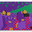 Jon Key. <em>Chosen Family No. 13</em>, 2021. Acrylic on panel, 72 x 96 inches (182.9 x 243.8 cm) thumbnail