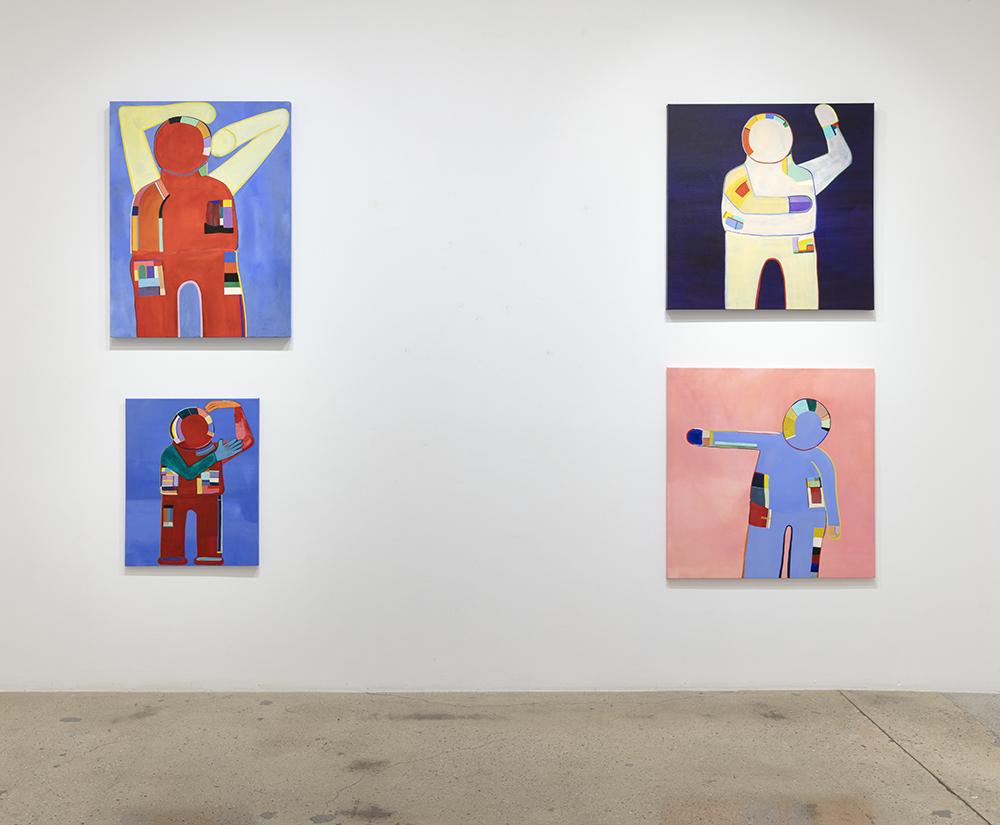 <em>Loud Flesh</em>, Installation view, Steve Turner, 2021