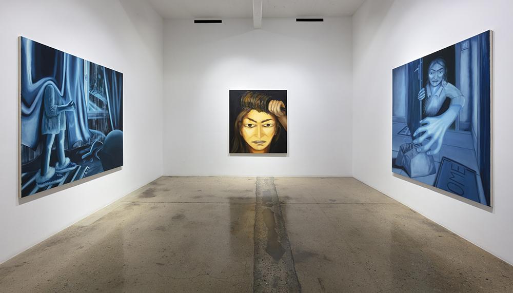 <em>No Rest For The Weary</em>. Installation view, Steve Turner, 2021