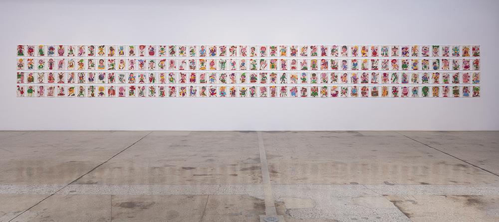 <em>The Other Names</em>. Installation view, Steve Turner, 2021