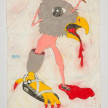 Camilo Restrepo. <em>Chaco</em>, 2021. Water-soluble wax pastel, ink, tape and saliva on paper 11 3/4 x 8 1/4 inches (29.8 x 21 cm) thumbnail