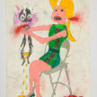 Camilo Restrepo. <em>Alexandra Nariño</em>, 2021. Water-soluble wax pastel, ink, tape and saliva on paper 11 3/4 x 8 1/4 inches (29.8 x 21 cm) thumbnail