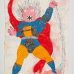 Camilo Restrepo. <em>Abuela</em>, 2021. Water-soluble wax pastel, ink, tape and saliva on paper 11 3/4 x 8 1/4 inches (29.8 x 21 cm) thumbnail