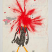 Camilo Restrepo. <em>Lucas</em>, 2021. Water-soluble wax pastel, ink, tape and saliva on paper 11 3/4 x 8 1/4 inches (29.8 x 21 cm) thumbnail