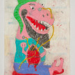 Camilo Restrepo. <em>Talibàn</em>, 2021. Water-soluble wax pastel, ink, tape and saliva on paper 11 3/4 x 8 1/4 inches (29.8 x 21 cm) thumbnail