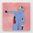 Gabby Rosenberg. <em>Loud Flesh, No Shadow IX</em>, 2021. Acrylic on canvas, 36 x 36 inches (91.4 x 91.4 cm) thumbnail