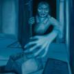 Karolina Jabłońska. <em>Takeaway</em>, 2021. Oil on canvas, 78 3/4 x 72 7/8 inches (200 x 185 cm) thumbnail