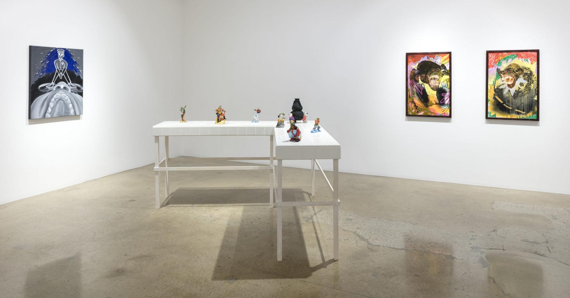 <em>So Excited</em>. Installation view, Steve Turner, 2021