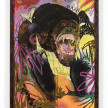 Bianca Fields. <em>Crap Cut, 2021</em>. Acrylic, oil and spray paint on yupo paper mounted on canvas with artist frame, 40 x 26 inches (101.6 x 66 cm) thumbnail