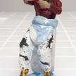 Charlie Mai. <em>'What a freak'</em>, 2021. Paint on ceramic, 7 3/4 x 3 3/4 x 2 inches (19.7 x 9.5 x 5.1 cm) thumbnail