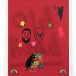 David Leggett. <em>Touch of grey</em>, 2021. Acrylic, spray paint, collage and felt on canvas, 28 x 22 inches (71.1 x 55.9 cm) thumbnail