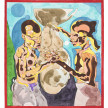 Richard Ayodeji Ikhide.<em>Mother Vessel</em>, 2021. Watercolor on paper, 56 x 50 inches (142.2 x 127 cm) thumbnail