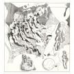 Richard Ayodeji Ikhide.<em>Inu Itan 2 (Inside Story 2)</em>, 2021. Pen and acrylic ink on paper, 23 1/4 x 22 1/4 inches (59.1 x 56.5 cm) thumbnail