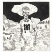 Richard Ayodeji Ikhide. <em>Inu Itan 6 (Inside Story 6)</em>, 2021. Acrylic ink on paper, 22 1/8 x 23 1/4 inches (56.2 x 59.1 cm) thumbnail