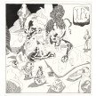 Richard Ayodeji Ikhide. <em>Inu Itan 1 (Inside Story 1)</em>, 2021. Acrylic ink on paper, 22 1/8 x 23 1/4 inches (56.2 x 59.1 cm) thumbnail