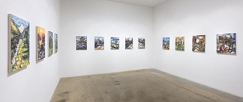 <em>Walking in the Wild</em>. Installation view, Steve Turner, 2021
