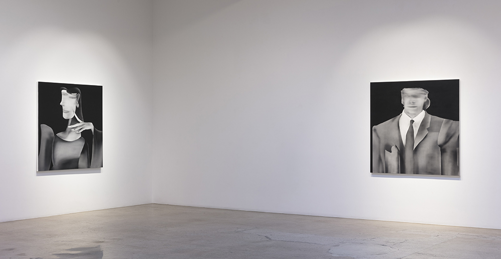 <em>Midnight</em>. Installation view, Steve Turner, 2021