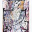 Jingze Du. <em>Sitting Figure</em>, 2021. Acrylic on canvas, 94 1/2 x 70 7/8 inches (240 x 180 cm) thumbnail