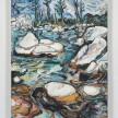 Maria Calandra. <em>Secret Cove</em>, 2021. Acrylic on canvas over panel, 24 x 18 inches (61 x 45.7 cm) thumbnail