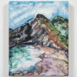 Maria Calandra. <em>Super Bloom on a Beach in Marin</em>, 2021. Acrylic on canvas over panel, 10 x 8 inches (25.4 x 20.3 cm) thumbnail