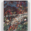 Maria Calandra. <em>Huckleberry Point (Catskills)</em>, 2021. Acrylic on canvas over panel, 10 x 8 inches (25.4 x 20.3 cm) thumbnail