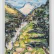Maria Calandra. <em>Appian Way (Itri, Italy)</em>, 2021. Acrylic on canvas over panel, 24 x 18 inches (61 x 45.7 cm) thumbnail